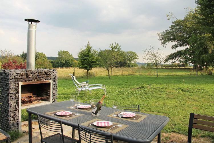 Panorama et Van Gogh - België - Ardennen - 8 personen - omheinde tuin