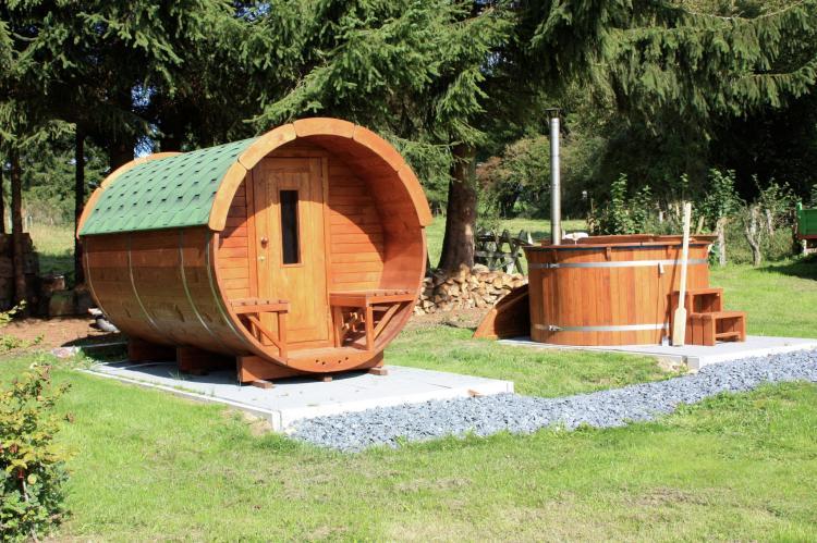 Vakantiehuis Chez Beau - België - Ardennen - 5 personen - sauna - en - jacuzzi
