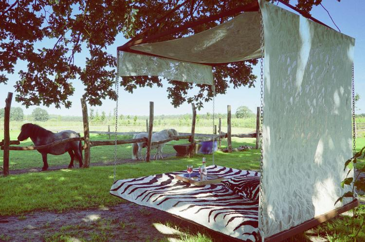 Vakantiehuis De Lieshoeve - België - Antwerpen - 12 personen - omheinde tuin