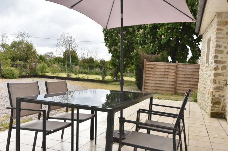 Cottage La Boulangerie - Frankrijk - Normandië - 4 personen - terras