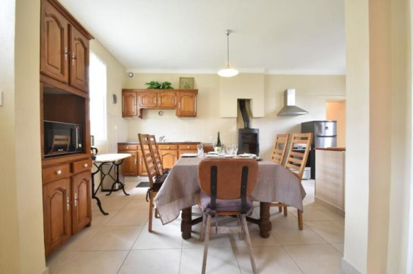 Gite Marcouf - Frankrijk - Normandië - 6 personen - woonkamer
