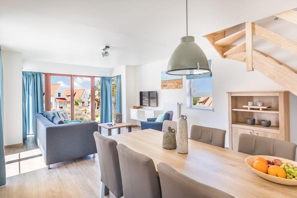 Kindervilla Luxe 6 - België - West Vlaanderen - 6 personen - woonkamer