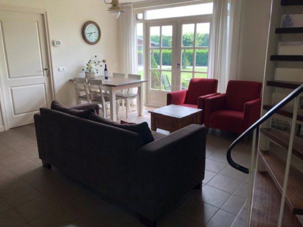 Vakantiehuis DG412 Exloo - Nederland - Drenthe - 4 personen - woonkamer